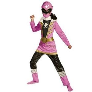 Power Rangers Super Megaforce Girls Pink Costume